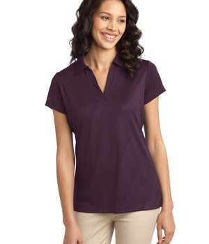 Port Authority Ladies Tech Embossed Polo Style L548 1