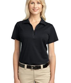 Port Authority Ladies Tech Pique Polo Style L527 1