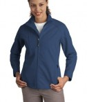 Port Authority Ladies Textured Soft Shell Jacket Style L705