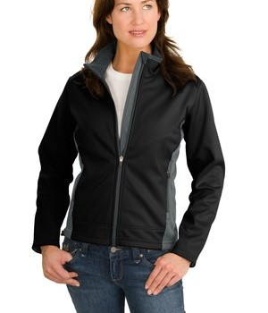 Port Authority Ladies Two-Tone Soft Shell Jacket Style L794 1
