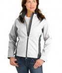 Port Authority Ladies Two-Tone Soft Shell Jacket Style L794