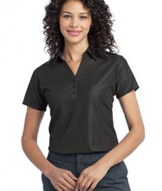 Port Authority Ladies Vertical Pique Polo Style L512