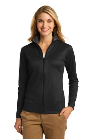 Port Authority Ladies Vertical Texture Full-Zip Jacket Style L805