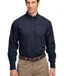 Port Authority Long Sleeve Easy Care  Soil Resistant Shirt Style S607