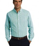 Port Authority Long Sleeve Gingham Easy Care Shirt Style S654