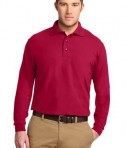 Port Authority Long Sleeve Silk Touch Polo Style K500LS