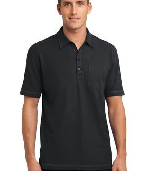 Port Authority Modern Stain-Resistant Pocket Polo Style K559 1