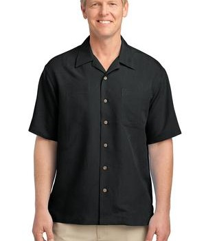 Port Authority Patterned Easy Care Camp Shirt Style S536 1