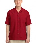Port Authority Patterned Easy Care Camp Shirt Style S536
