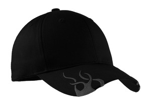 Port Authority Racing Cap with Flames Style C857 1