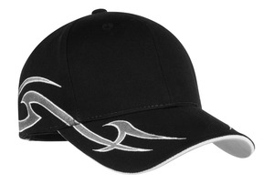 Port Authority Racing Cap with Sickle Flames Style C878 1