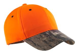 Port Authority Safety Cap with Camo Brim Style C804