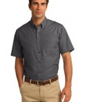 Port Authority Short Sleeve Crosshatch Easy Care Shirt Style S656