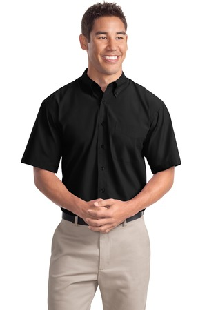 Port Authority Short Sleeve Easy Care  Soil Resistant Shirt Style S507