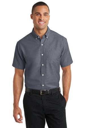 Port Authority Short Sleeve SuperPro Oxford Shirt Style S659