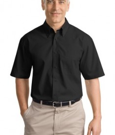 Port Authority Short Sleeve Value Poplin Shirt Style S633