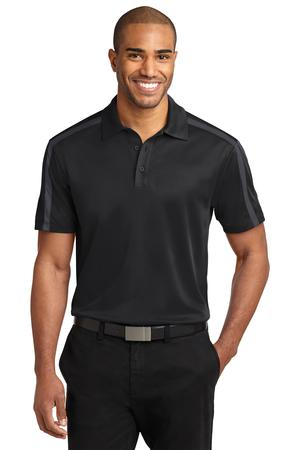 Port Authority Silk Touch Performance Colorblock Stripe Polo Style K547