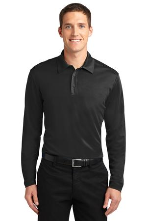 Port Authority Silk Touch Performance Long Sleeve Polo Style K540LS
