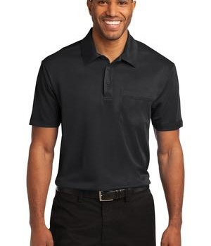 Port Authority Silk Touch Performance Pocket Polo Style K540P 1