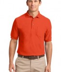Port Authority Silk Touch Polo with Pocket Style K500P