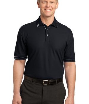 Port Authority Silk Touch Tipped Polo Style K502 1