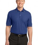 Port Authority Silk Touch Tipped Polo Style K502