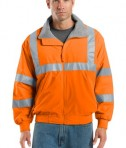 Port Authority SRJ754 Enhanced Visibility Reflective Taping Challenger Jacket Safety Orange
