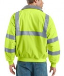 Port Authority SRJ754 Enhanced Visibility taping Challeger Jacket Safety Yellow Back