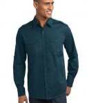 Port Authority Stain-Resistant Roll Sleeve Twill Shirt Style S649