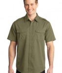 Port Authority Stain-Resistant Short Sleeve Twill Shirt Style S648