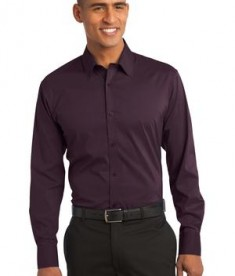 Port Authority Stretch Poplin Shirt Style S646