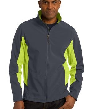 Port Authority Tall Core Colorblock Soft Shell Jacket Style TLJ318 1