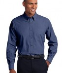 Port Authority Tall Crosshatch Easy Care Shirt Style TLS640