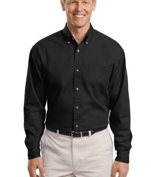 Port Authority Tall Long Sleeve Twill Shirt Style TLS600T 1