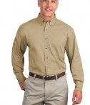 Port Authority Tall Long Sleeve Twill Shirt Style TLS600T