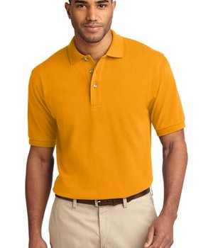 Port Authority Tall Pique Knit Polo Style TLK420 1