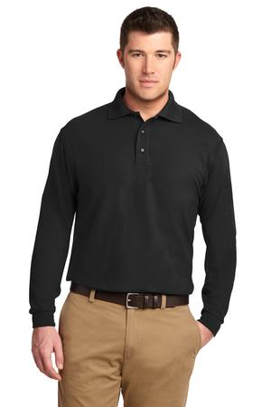Port Authority Tall Silk Touch Long Sleeve Polo Style TLK500LS 1