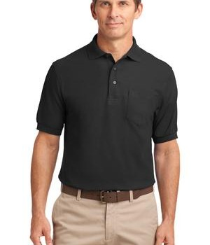Port Authority Tall Silk Touch Polo with Pocket Style TLK500P 1