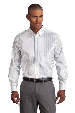 Port Authority Tall Tattersall Easy Care Shirt Style TLS642