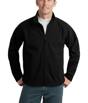 Port Authority Tall Textured Soft Shell Jacket Style TLJ705 1
