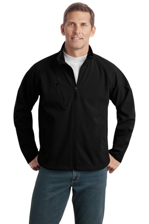 Port Authority Tall Textured Soft Shell Jacket Style TLJ705