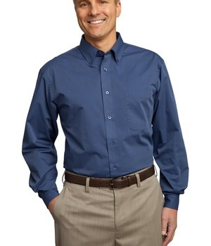 Port Authority Tall Tonal Pattern Easy Care Shirt Style TLS613 1