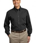 Port Authority Tall Tonal Pattern Easy Care Shirt Style TLS613