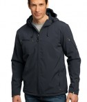Port Authority Textured Hooded Soft Shell Jacket Style J706