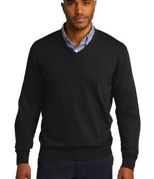 Port Authority V-Neck Sweater Style SW285 1
