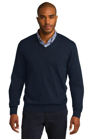 Port Authority V-Neck Sweater Style SW285 - Casual Clothing from ...