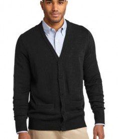 Port Authority Value V-Neck Cardigan with Pockets Style SW302