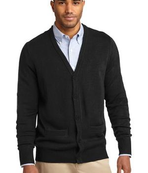 Port Authority Value V-Neck Cardigan with Pockets Style SW302 1