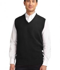 Port Authority Value V-Neck Sweater Vest Style SW301