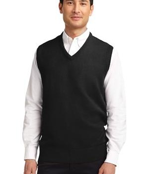 Port Authority Value V-Neck Sweater Vest Style SW301 1